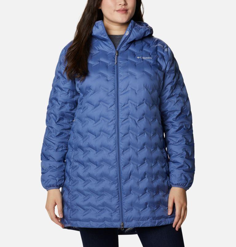 Women's Delta Ridge™ Long Down Jacket - Plus Size Women's Delta Ridge™ Long Down Jacket - Plus Size, a4