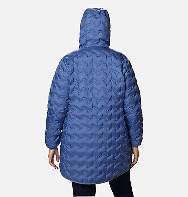 Women's Delta Ridge™ Long Down Jacket - Plus Size Delta Ridge™ Long Down Jacket | 458 | 2X, Velvet Cove, back