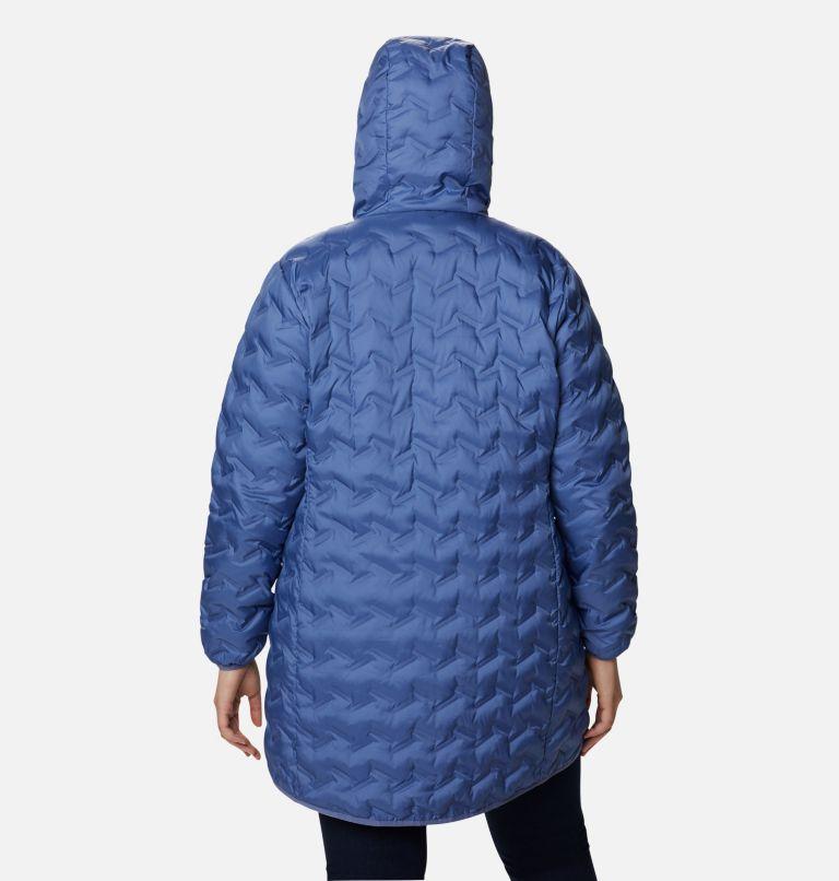 Women's Delta Ridge™ Long Down Jacket - Plus Size Women's Delta Ridge™ Long Down Jacket - Plus Size, back