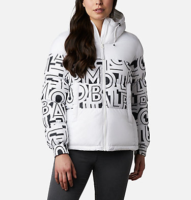 Manteau isolé Pike Lake™ II pour femme Pike Lake™ II Insulated Jacket | 010 | M, White, White Typo Print, front