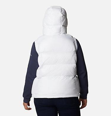 Women's Pike Lake™ II Insulated Vest - Plus Size Pike Lake™ II Insulated Vest | 011 | 1X, White, back
