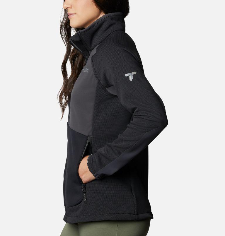 W Powder Chute™ Fleece Jacket | 010 | XS Women's Powder Chute Fleece Jacket, Black, Shark, a1