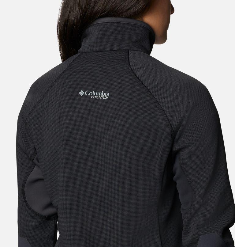 W Powder Chute™ Fleece Jacket | 010 | XS Women's Powder Chute Fleece Jacket, Black, Shark, a4