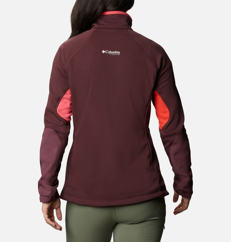 Women's Powder Chute Fleece Jacket Women's Powder Chute Fleece Jacket, back