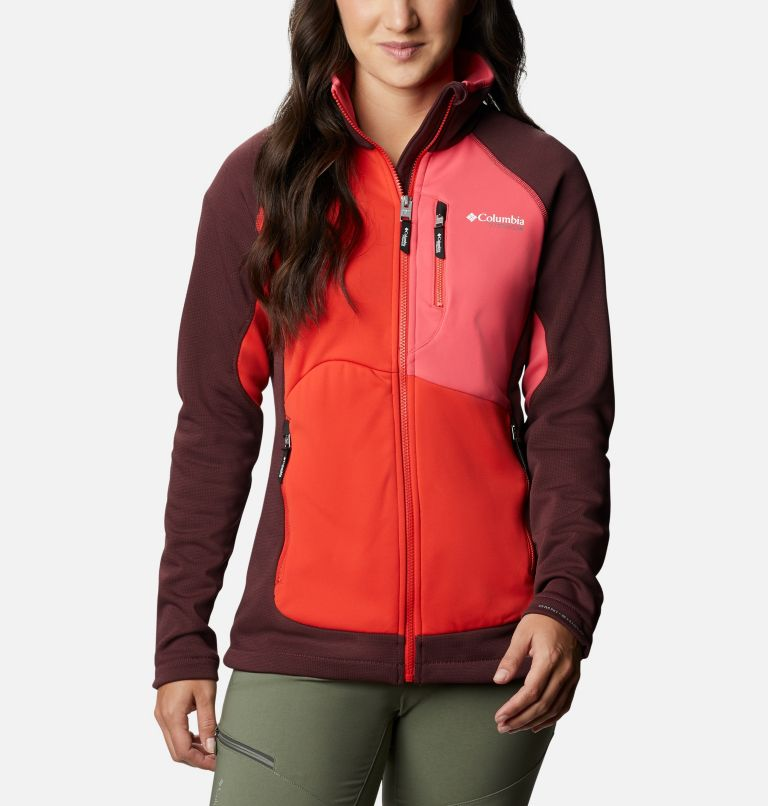 Women's Powder Chute Fleece Jacket Women's Powder Chute Fleece Jacket, front