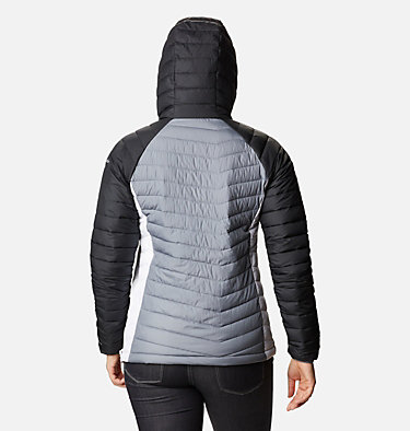 Women's Powder Lite™ Insulated Anorak Powder Lite™ Insulated Anorak | 671 | M, Grey Ash, Black, White, back