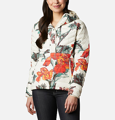 Women's Powder Lite™ Insulated Anorak Powder Lite™ Insulated Anorak | 671 | M, Chalk Botanica Print, front