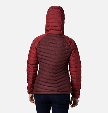 Women's Powder Lite™ Insulated Anorak Powder Lite™ Insulated Anorak | 671 | M, Malbec, Marsala Red, back