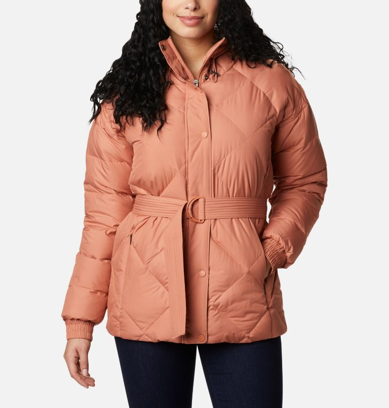 Women's Icy Heights™ Belted Jacket Women's Icy Heights™ Belted Jacket, front