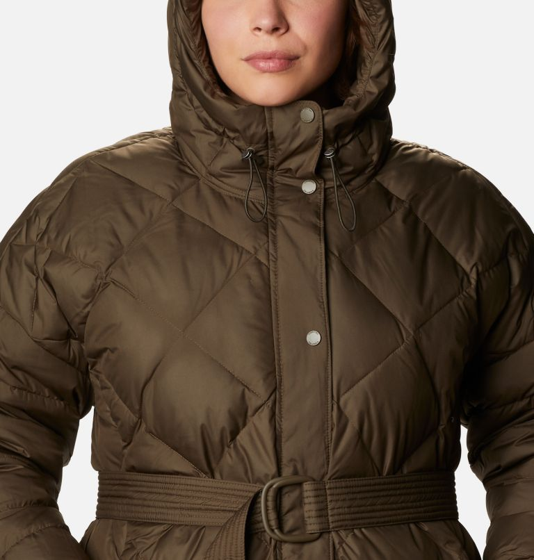 Women's Icy Heights™ Belted Down Jacket - Plus Size Women's Icy Heights™ Belted Down Jacket - Plus Size, a2