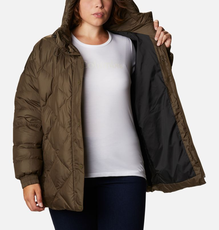 Women's Icy Heights™ Belted Down Jacket - Plus Size Women's Icy Heights™ Belted Down Jacket - Plus Size, a3