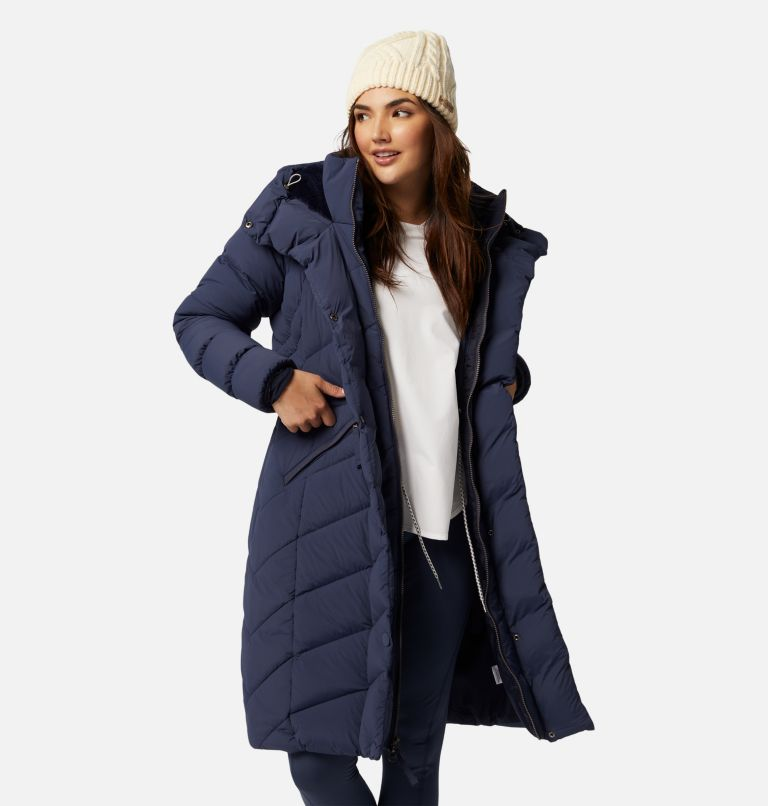Women's Ember Springs™ Long Down Jacket Women's Ember Springs™ Long Down Jacket, a4