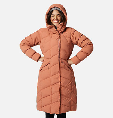 Women's Ember Springs™ Long Down Jacket Ember Springs™ Long Down Jacket | 191 | XS, Nova Pink, front