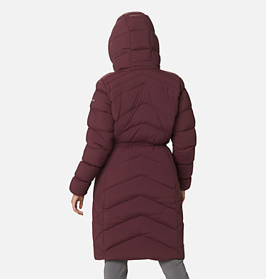 Women's Ember Springs™ Long Down Jacket Ember Springs™ Long Down Jacket | 191 | XS, Malbec, back