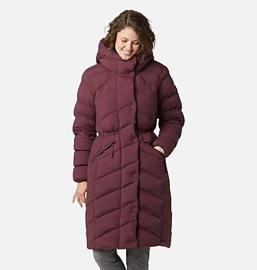 Women's Ember Springs™ Long Down Jacket Ember Springs™ Long Down Jacket | 191 | XS, Malbec, front