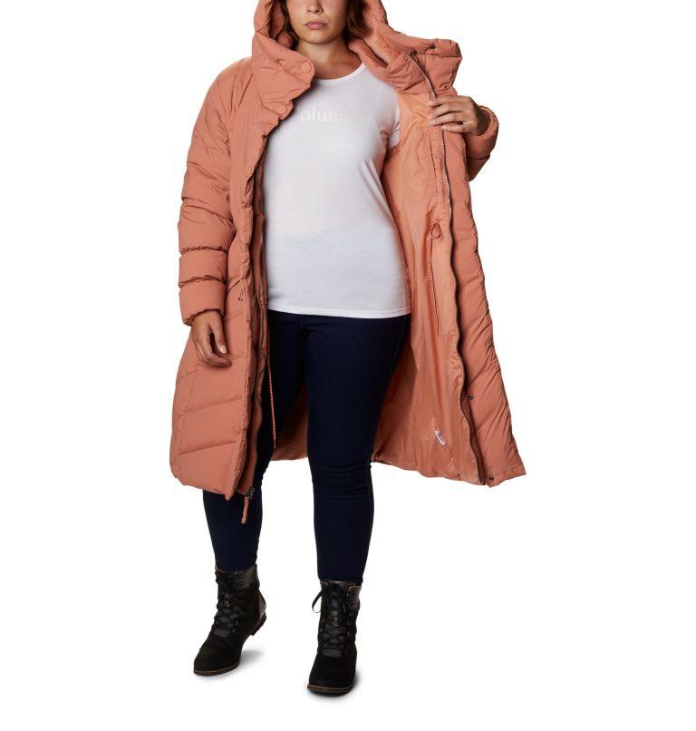 Ember Springs™ Long Down Jacket   604   1X Women's Ember Springs™ Long Down Jacket - Plus Size, Nova Pink, a3