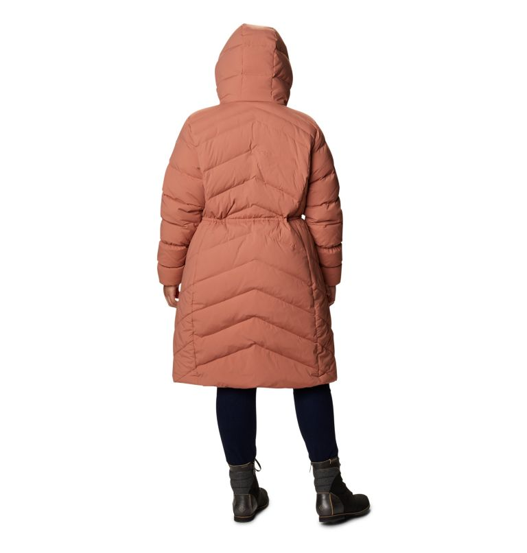 Women's Ember Springs™ Long Down Jacket - Plus Size Women's Ember Springs™ Long Down Jacket - Plus Size, back