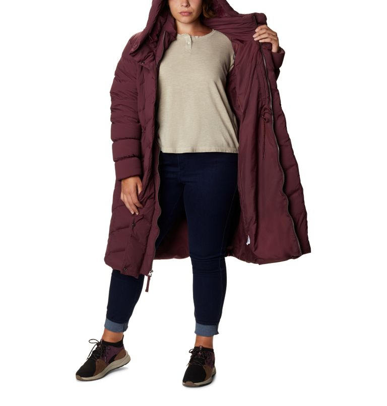 Women's Ember Springs™ Long Down Jacket - Plus Size Women's Ember Springs™ Long Down Jacket - Plus Size, a3