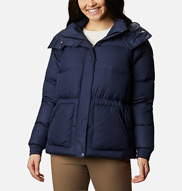 Women's Northern Gorge Down Jacket Northern Gorge™ Down Jacket | 010 | S, Dark Nocturnal Ripstop, front