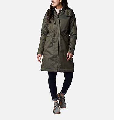 Women's Firwood™ Parka Firwood™ Parka | 010 | M, Olive Green Yarn Dye, Olive Green Lining, front