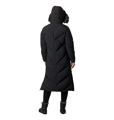 Women's Snowy Notch™ Long Down Jacket Snowy Notch™ Long Down Jacket | 191 | S, Black, Black Fur, back