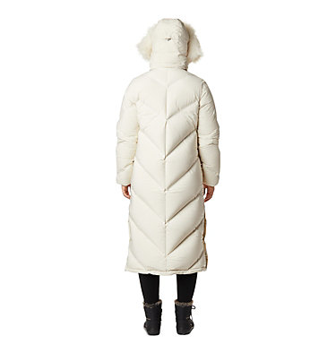 Women's Snowy Notch™ Long Down Jacket Snowy Notch™ Long Down Jacket | 191 | S, Chalk, Chalk Fur, back
