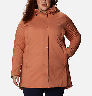 Manteau Dawn Watch™ pour femme - Grandes tailles W Dawn Watch™ Jacket | 010 | 3X, Nova Pink, front