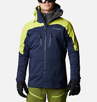 Manteau Peak Pursuit™ pour homme Peak Pursuit™Shell | 010 | XL, Collegiate Navy, Bright Chartreuse, front