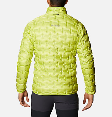 Men's Alpine Crux™ Down Jacket M Alpine Crux™ Down Jacket | 386 | L, Bright Chartreuse, back