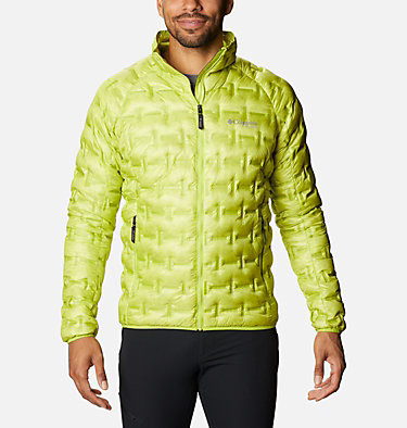 Men's Alpine Crux™ Down Jacket M Alpine Crux™ Down Jacket | 386 | L, Bright Chartreuse, front