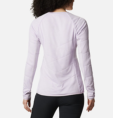 Women's Parkdale Point™ Insulated Crew Shirt Parkdale Point™ Insulated Crew | 843 | L, Pale Lilac, back