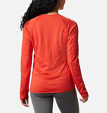 Women's Parkdale Point™ Insulated Crew Shirt Parkdale Point™ Insulated Crew | 843 | L, Bold Orange, back