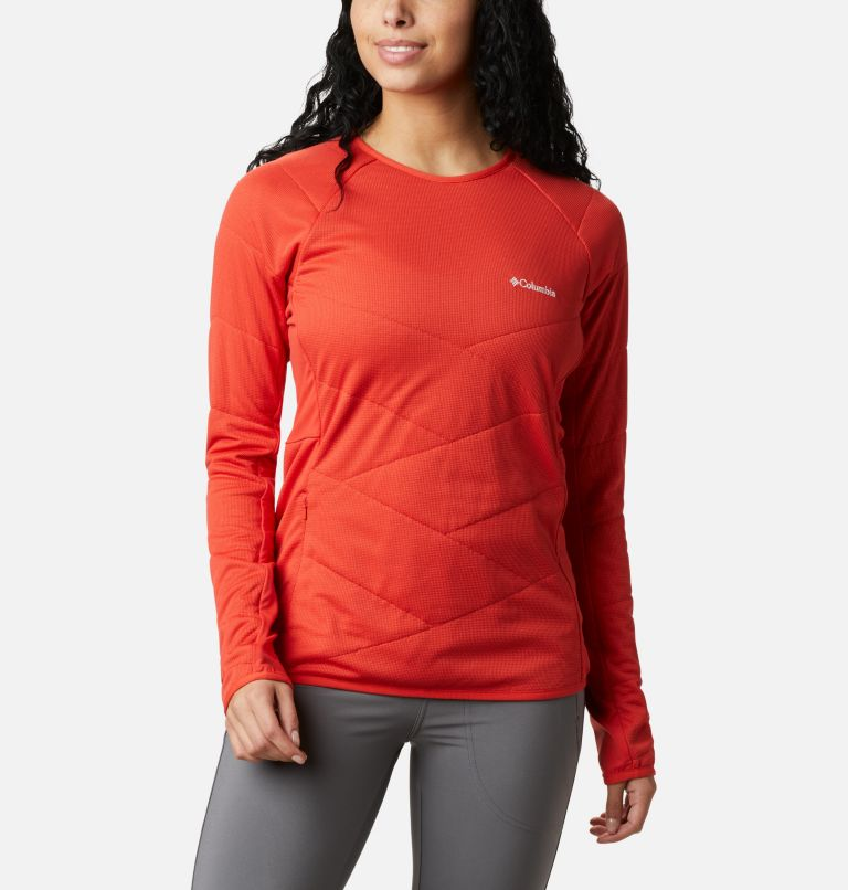 Women's Parkdale Point™ Insulated Crew Shirt Women's Parkdale Point™ Insulated Crew Shirt, front
