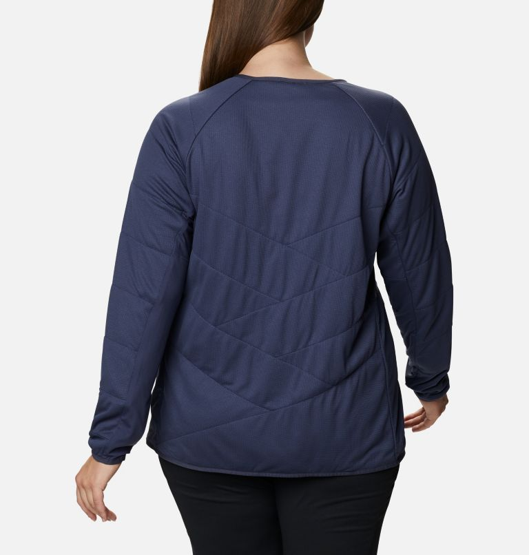 Women's Parkdale Point™ Insulated Crew Shirt - Plus Size Women's Parkdale Point™ Insulated Crew Shirt - Plus Size, back