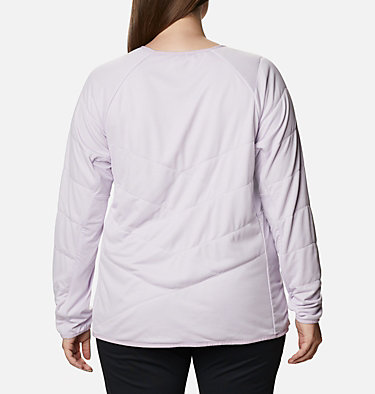Women's Parkdale Point™ Insulated Crew Shirt - Plus Size Parkdale Point™ Insulated Crew | 466 | 1X, Pale Lilac, back
