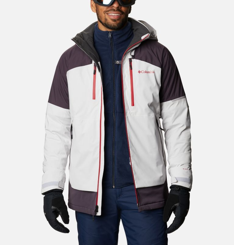 Wild Card™ Jacket | 043 | L Men's Wild Card Ski Jacket, Nimbus Grey, Dark Purple, a10