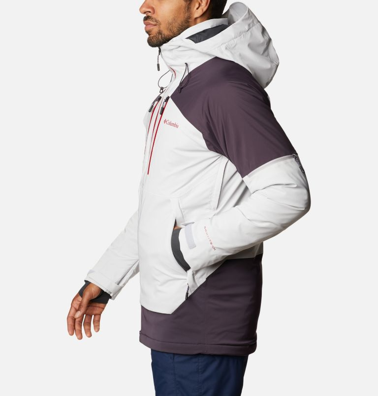 Wild Card™ Jacket | 043 | L Men's Wild Card Ski Jacket, Nimbus Grey, Dark Purple, a1
