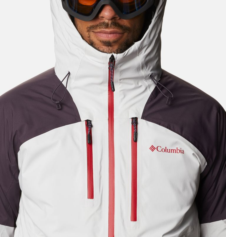 Wild Card™ Jacket | 043 | L Men's Wild Card Ski Jacket, Nimbus Grey, Dark Purple, a2