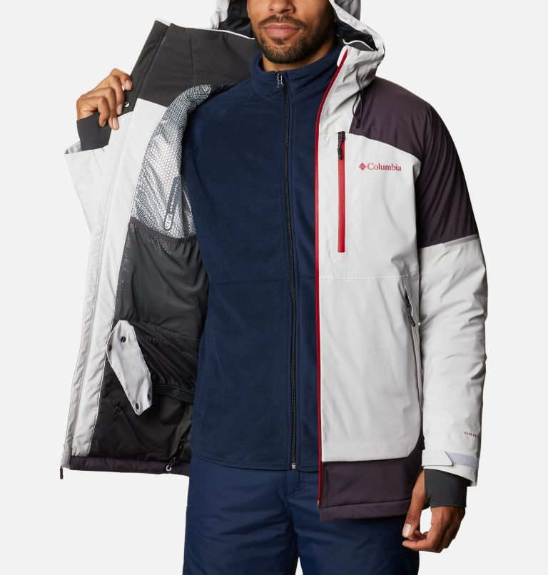 Wild Card™ Jacket | 043 | L Men's Wild Card Ski Jacket, Nimbus Grey, Dark Purple, a3