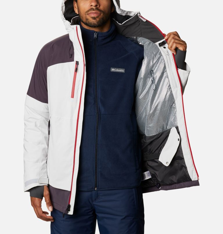 Wild Card™ Jacket | 043 | L Men's Wild Card Ski Jacket, Nimbus Grey, Dark Purple, a4