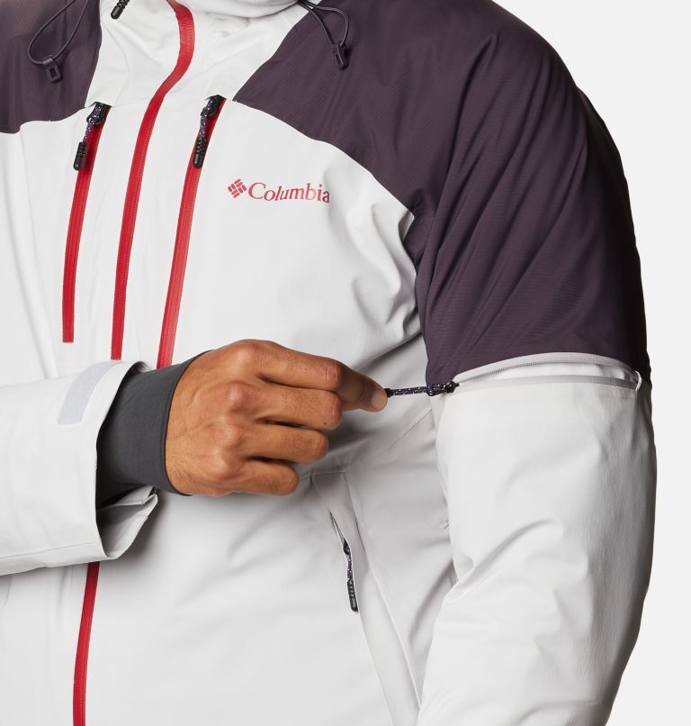 Wild Card™ Jacket | 043 | L Men's Wild Card Ski Jacket, Nimbus Grey, Dark Purple, a7