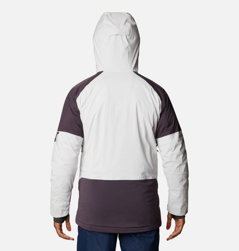 Wild Card™ Jacket | 043 | L Men's Wild Card Ski Jacket, Nimbus Grey, Dark Purple, back