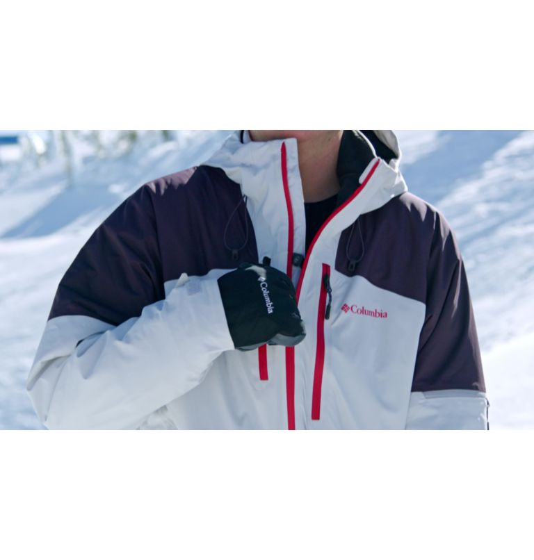 Wild Card™ Jacket | 043 | L Men's Wild Card Ski Jacket, Nimbus Grey, Dark Purple, video
