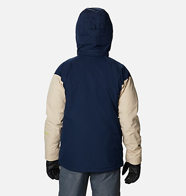 Men's Peak Divide™ Ski Jacket Peak Divide™ Jacket | 464 | S, Collegiate Navy, Ancient Fossil, back