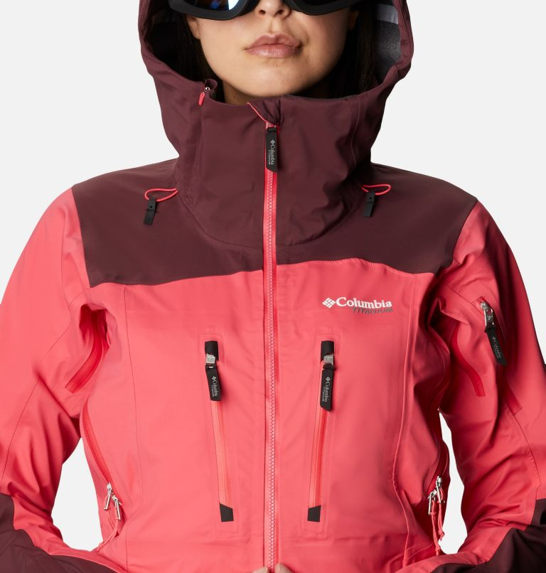Women's Peak Pursuit 3L Ski Shell Jacket Women's Peak Pursuit 3L Ski Shell Jacket, a2