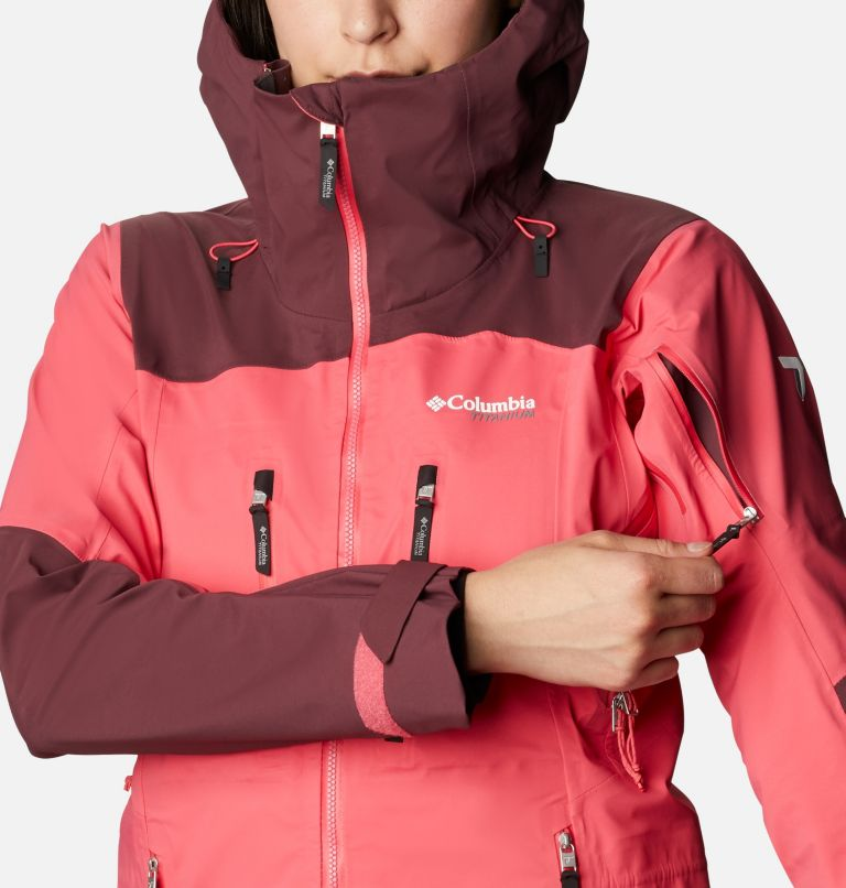 Women's Peak Pursuit 3L Ski Shell Jacket Women's Peak Pursuit 3L Ski Shell Jacket, a4