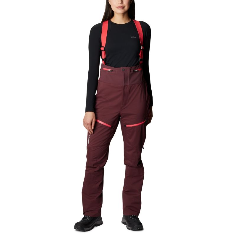 Women's Peak Pursuit Bib Ski Pants Women's Peak Pursuit Bib Ski Pants, front