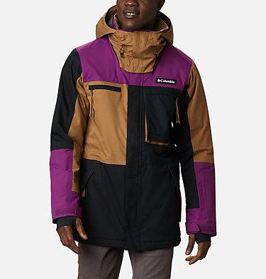 Men's Park Run Jacket Park Run™ Jacket | 011 | S, Black, Delta, Plum, front