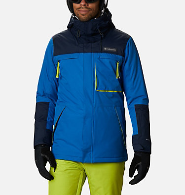 Manteau Park Run™ pour homme Park Run™ Jacket | 511 | M, Bright Indigo, Collegiate Navy, front