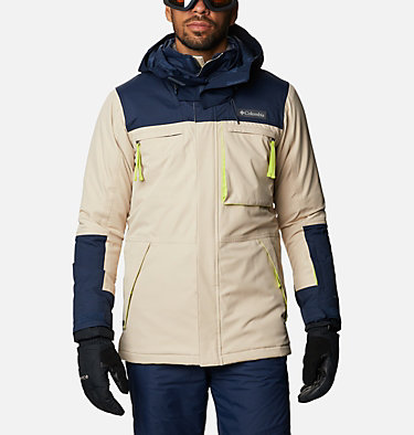 Men's Park Run™ Jacket - Big Park Run™ Jacket | 271 | 3X, Ancient Fossil, Collegiate Navy, front